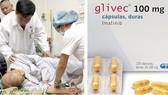Bệnh viện Truyền máu - Huyết học TPHCM đã nhận thuốc ung thư viện trợ Glivec