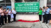 Trạm Y tế Phường 13, quận Bình Thạnh được đầu tư về cơ sở vật chất cũng như sự hỗ trợ chuyên môn từ tuyến trên.