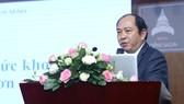 PGS.TS Tăng Chí Thượng, Phó Giám đốc Sở Y tế TPHCM phát biểu tại hội nghị