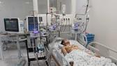 Hiện em K. đã cai máy thở, tỉnh táo, chức năng cơ quan cải thiện