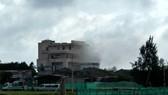 Cháy khách sạn ở Lý Sơn