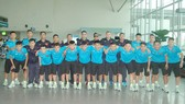 Đội tuyển futsal U.20 Việt Nam lên đường sang Thái Lan