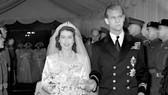 Đám cưới Công chúa Elizabeth và Philip tại Tu viện Westminster ngày 20-11-1947. Ảnh: PA