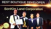 """SonKim Land được vinh danh """"Nhà phát triển BĐS xuất sắc nhất dòng Luxury Boutique"""" 2018"""