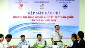 Herbalife Việt Nam tài trợ chính cho Hội thi Thể thao người khuyết tật toàn quốc lần thứ 6