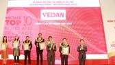 Vedan Việt Nam được vinh danh trong Top 10 công ty uy tín ngành thực phẩm - đồ uống năm 2018