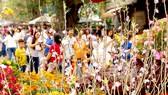 Nâng cao dân trí để hạn chế hiện tượng dâng sao giải hạn (trong ảnh: Người dân đến chùa lễ Phật trong không khí thành kính, trang nghiêm. Ảnh: MINH THANH