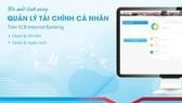 SCB chính thức ra mắt chức năng quản lý tài chính cá nhân trên SCB Internet banking