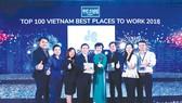 Công ty CP Tập đoàn Xây dựng Hòa Bình 4 năm liêp tiếp đạt Tốp 100 Nơi làm việc tốt nhất