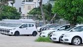 Kho xe của một cửa hàng ô tô tại quận 7.  Ảnh: THÀNH TRÍ