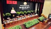 Đại hội đại biểu Đảng bộ TPHCM lần thứ X. Ảnh: CAO THĂNG
