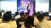 Doanh nghiệp nhỏ và vừa tại TPHCM tham dự một buổi hội thảo do Hiệp hội Doanh nhân trẻ TPHCM tổ chức
