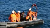 Lực lượng cứu nạn tìm kiếm nạn nhân mất tích trên biển