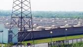 Một góc khu xử lý nước thải Bình Hưng