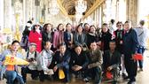 Đoàn khách TST tourist tại Cung điện Versailles, Pháp