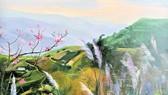 Triển lãm Qua miền Tây Bắc của NSND - họa sĩ Trà Giang: Không gian hiện tại và hồi ức