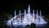 濠莊音樂噴泉正式投入活動。(圖源:互聯網)