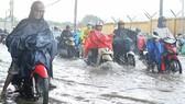 局部性強降雨導致本市經常受淹。