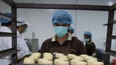 Sweet home餅家生產線一隅。