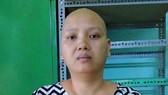 不幸患著乳癌的潘氏雪娥。
