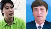 潘巢南(左)與原C50局長阮清化。(圖源:互聯網)