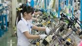 平陽省 YAZAKI 外資公司的生產線。
