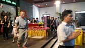 C50 副局長武俊勇大校猝死的火葬儀式一瞥。(圖源:燕鶯)