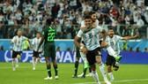 阿根廷慶祝進球。(圖源:互聯網)