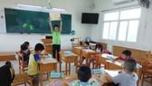 台灣學校學生參加正音營隊活動。