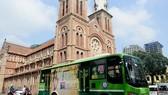 採用智能車票系統的巴士。