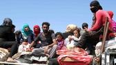 敘利亞難民返鄉。(圖源:Sputnik)