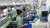 越南三星廠房車間一瞥。(示意圖源:互聯網)