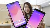"""美國科技巨頭谷歌於當地時間9日發佈了""""Pixel 3""""系列手機。(圖源:共同社)"""