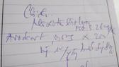 如斯潦草的字跡,叫病人怎能看得清楚和知道病例?