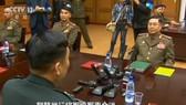 韓朝 65 年首次聯合考察漢江入海口。(圖源:CCTV視頻截圖)
