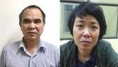 被起訴的2名嫌犯高維海(左)和范氏芳英。(圖源:公安部)