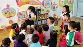 8號幼兒園第一分校裡的課室。(示意圖源:互聯網)