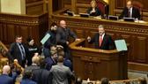 波羅申科宣佈烏克蘭戒嚴。(圖源:AFP)