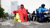 阮友景街逢強降雨或潮汛就受淹嚴重。(圖源:松信)