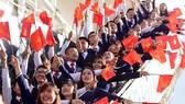 我國在東南亞青年船的代表。