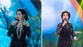 老歌演唱會向來務必經藝術表演局准許後方可進行。左圖為懿蘭、右圖為芳蓉歌星的老歌表演節目。