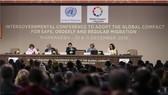 聯合國10日批准《全球移民契約》,為首份移民管理的國際文件。(圖源:AP)