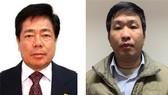 被捕的2名嫌犯張文線(左)與范清山。(圖源:公安部)