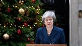 首相特蕾莎‧梅發表回應保守黨對其發起不信任投票。(圖源:互聯網)