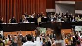 12月23日,古巴議會於當地時間22日批准了修改憲法的最新草案。(圖源:EPA)