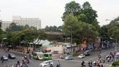 """涉及陳興道-阮泰學-范伍老街的""""黃金三角""""地段,面積逾1萬2000平方米的項目從2007年擱置至今。"""