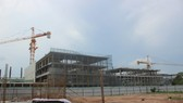 施工建設中的開山都市區項目一瞥。(圖源:心安)