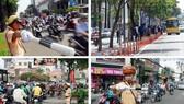 新年多條街道實行交通管制。(示意圖源:田升)