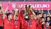 越南足選隊榮獲2018年東南亞AFF盃決賽冠軍