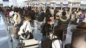 日本7日開始向出境者每人徵收1000日元的國際觀光旅客稅(出境稅)。(示意圖源:共同社)